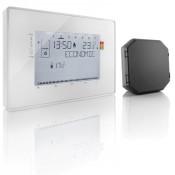 Thermostat programmable radio contact sec + 1 récepteur