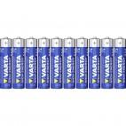 1 pack de 10 piles AAA VARTA LR03
