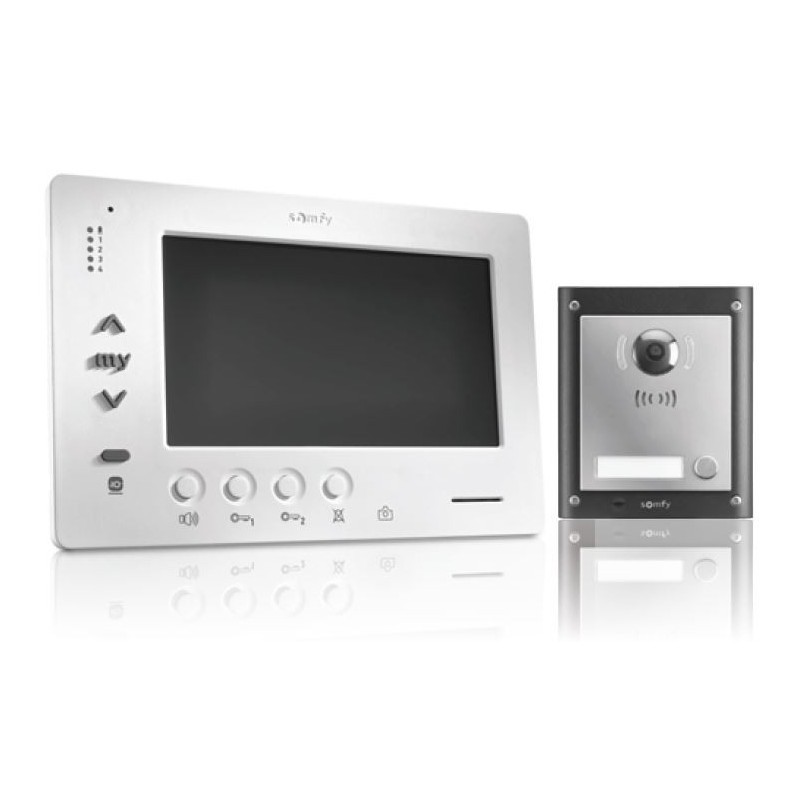 kit vsystem pro origin io visiophone gamme pro 1841226 somfy. Black Bedroom Furniture Sets. Home Design Ideas