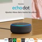 Nouvel Echo Dot (3ème génération), Enceinte connectée avec Alexa