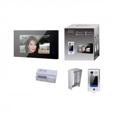 Vidéophone visiophone 2EASY GATES DIVA memoire d'image ou vidéo avec Module GSM pour renvoi d'appel sur smartphone
