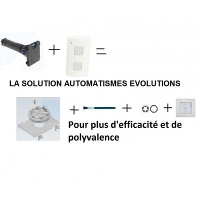 Kit D Adaptation Pour Moteur Somfy Rts Dans Volet Roulant Bubendorf