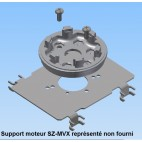 Plaque d'adaptation en acier galvanisé pour moteur toute marque sur joue Bubendorff