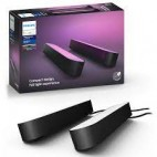 Philips Hue Play Pack White & Color Ambiance X2 6,6 W - Noir