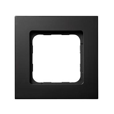 Cadre Smoove noir mat