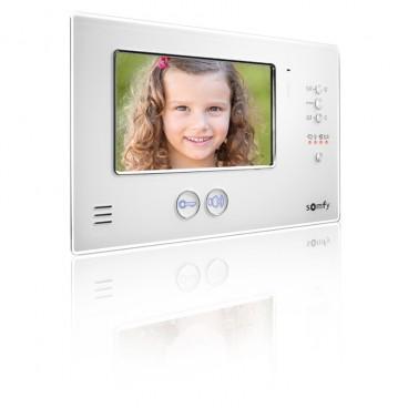 Moniteur Visiophone V200 blanc SOMFY