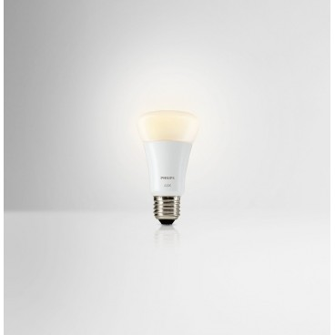 ampoule led connect e philips hue lux culot e27 1822511. Black Bedroom Furniture Sets. Home Design Ideas