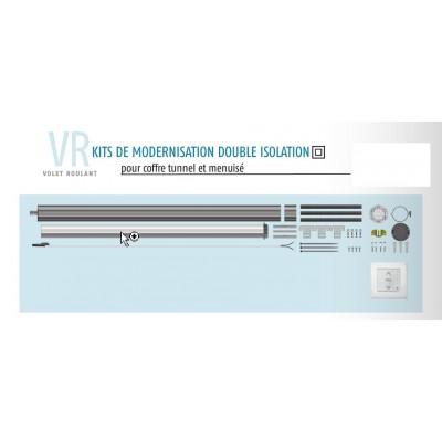 Kit De Modernisation Somfy Volet Roulant Coffre Tunnel Et Menuis R