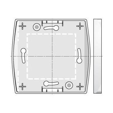 Boîtier Montage en Saillie Blanc CENTRALIS